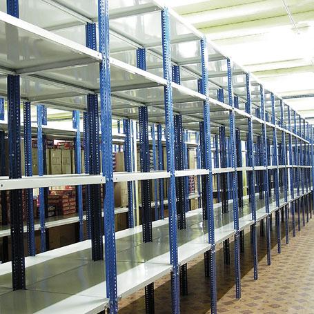 Multiex excedentes industriales for Perfiles de estanterias metalicas